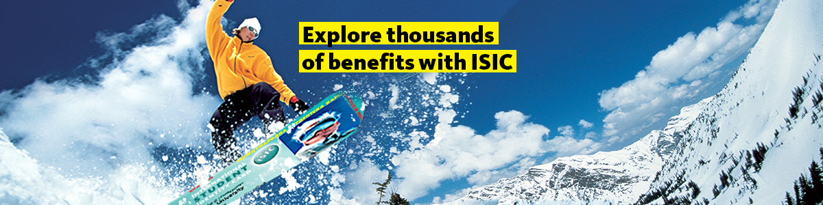 Explore thousands of benefits with ISIC