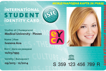 ISIC EYC Cards