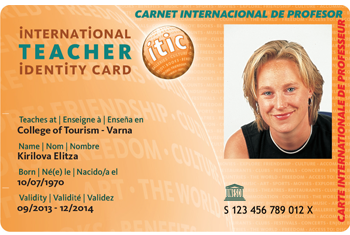 ITIC Teachers Cards