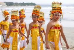 Детска церемония на остров Бали