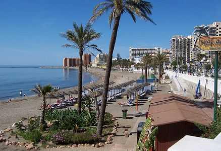 плаж Коста дел сол, Испания