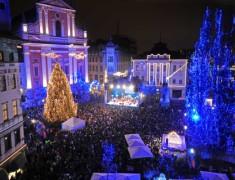 Нова година в Словения 2015