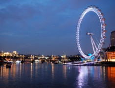 Нова година в Лондон 2015