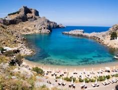 Море в Гърция, остров Родос