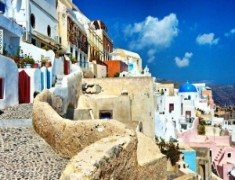 Резервирайте почивка на Санторини с Usit Colours