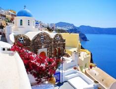 Майски празници на остров Санторини, Гърция