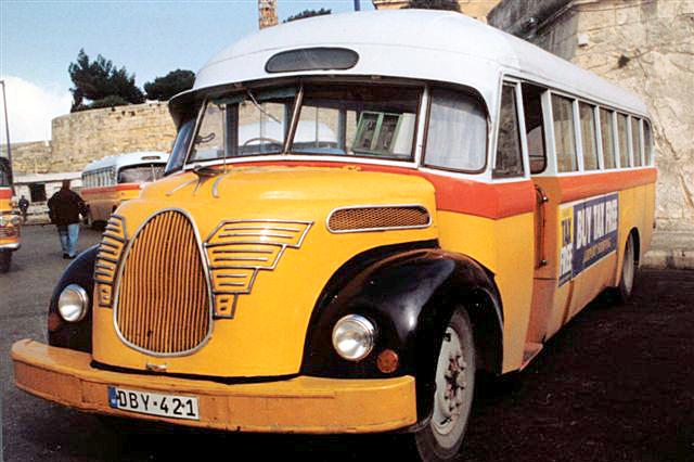 Градският транспорт в Малта