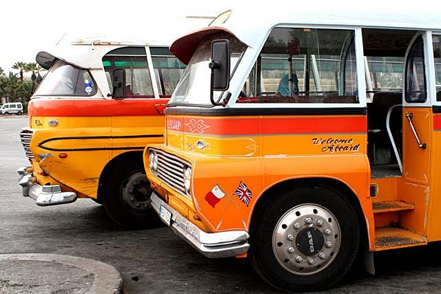 Общественият транспорт в Малта