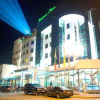 Дипломат Плаза- фасада - настаняване