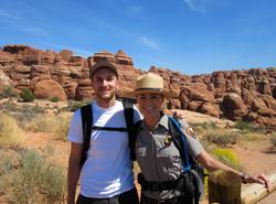Исотрията на Сияна и Манол от Work and Travel USA лятото им в Utah