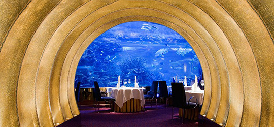 ресторант Al Mahara, Дубай