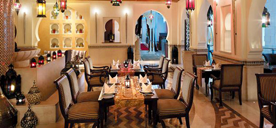 restaurant Marrakesh, Dubai