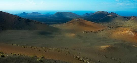 канарски острови - гледка към вътрешността на острова
